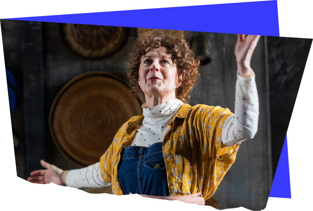 Paula Plum in The Children (2020). Photo by Maggie Hall Photography.